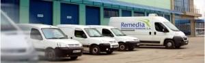 Centrul logistic Farmaceutica REMEDIA Bucuresti